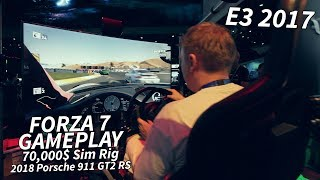 Forza 7 - Gameplay on a 70,000$ rig - 2018 Porsche 911 GT2 RS - E3 2017 by Tanel
