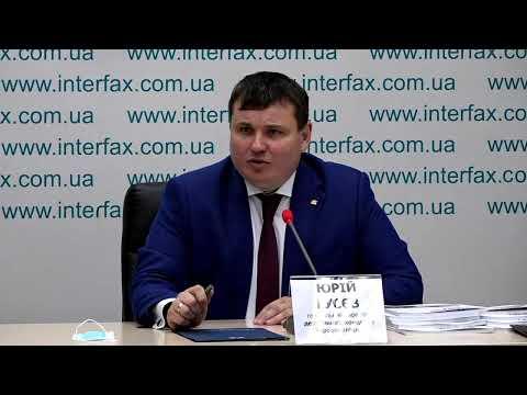 Press conference of Ukroboronprom state concern CEO Yuriy Husev