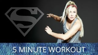 The Her Universe Superman workout will make you sore to day but