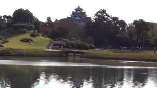 【観光】晴れの国後楽園・岡山城(KorakuenGarden&OkayamaCastle)2015【FHD】