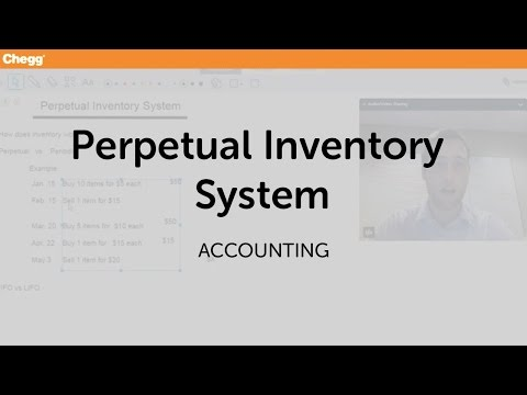 Definition Of Perpetual Inventory System Chegg Com