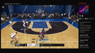 NBA Live 18 Chill Stream