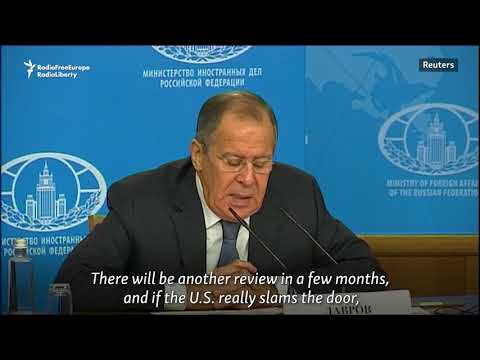 Lavrov Says Russia To Resist Changes To Iran Nuclear Deal