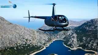 preview picture of video 'Mallorca - Flug mit Heli bzw. Hubschrauber über die Insel'