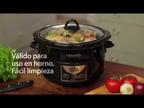 Crock Pot olla cocción lenta 4,7 L SCCPRC507B-050