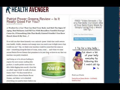 Patriot Power Greens Reviews Green Energy Healthy Drinks