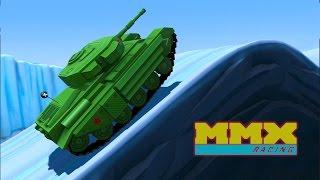 МАШИНЫ МОНСТРЫ #1 Мультик игра для детей про тачки монстры. Гонки на машинах MMX Hill Climb