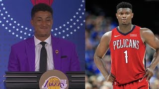 Pelicans Get 1st Pick 2019 Draft! Lakers Lucky! 2019 NBA Draft