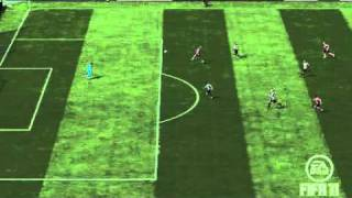 preview picture of video 'Piękna Bramka (FIFA 11)'