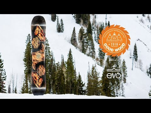 Jones Ultra Mtn Twin  – Good Wood Reviews : Best Men's All Mountain Snowboards of 2017-2018