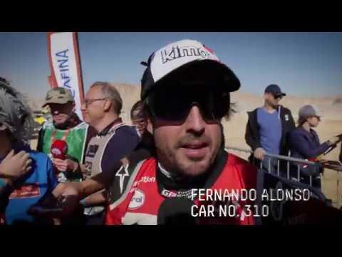 【ダカールラリー ToyotaGazooRacingチームのハイライト動画】ステージ12ハイライト