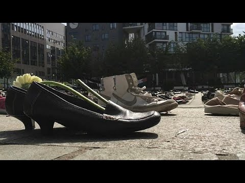 4500 Paar Schuhe für die Toten im Gazakonflikt