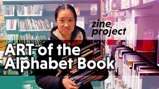 Art Of The Alphabet Book   A Zine Project Introduction   Art Illustration