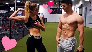 Fit Couples Motivational Workout | Lean Grocery Haul