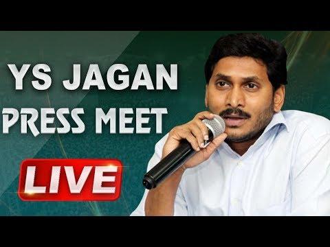 Download Ys Jagan Live Ys Jagan Mohan Reddy Press Meet In