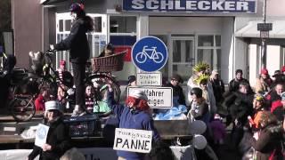 preview picture of video 'Karneval 2013: Radfahren in Rösrath - ein Abenteuer'