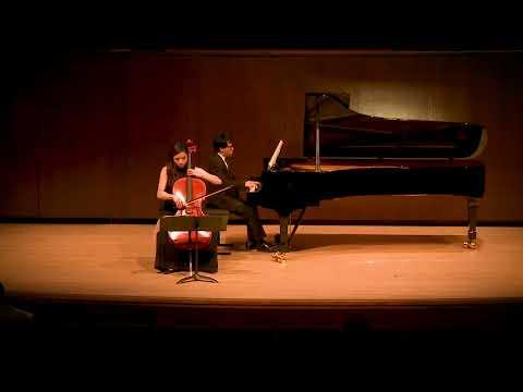 Debussy Cello Sonata, mov I