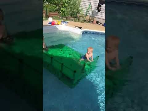 Jump and splash 2 Quadro Aqua Pool Dock