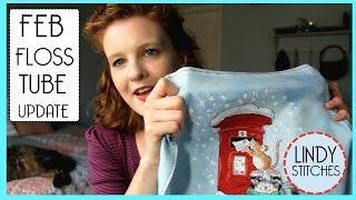 February Flosstube Update Lindy Stitches Cross Stitch Video