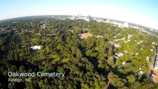 Drone over Raleigh