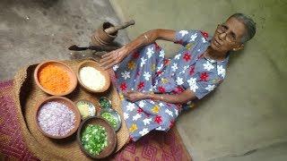 Vegetable Rolls Prepared By Grandma   Village Food