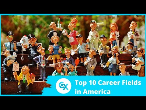 , title : 'Top 10 Career Fields in America