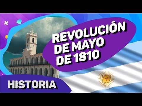 Video: La historia Argentina: Revolución de Mayo