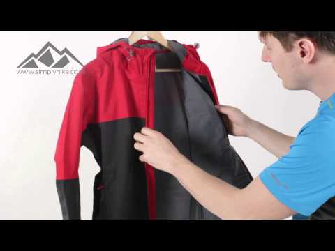 Salomon Mens La Cote Jacket   Black and Matador X - www.simplyhike.co.uk
