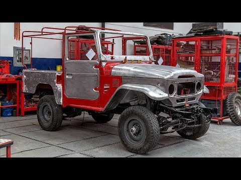 1984 Toyota Land Cruiser FJ43 Body-Off Restoration Project