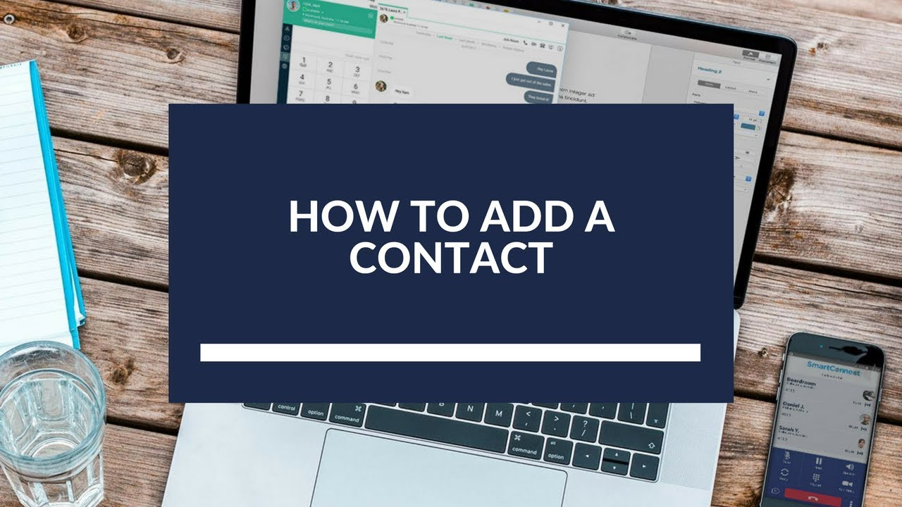How to Add a Contact