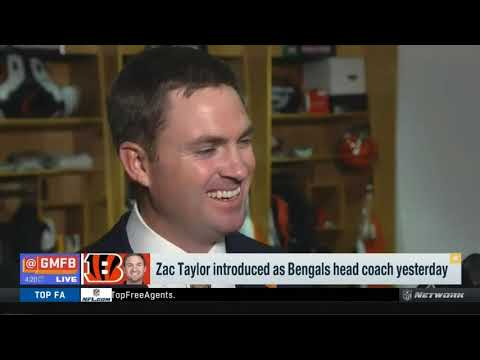 First impressions of new Bengals Head Coach Zac Taylor | Good Morning Football