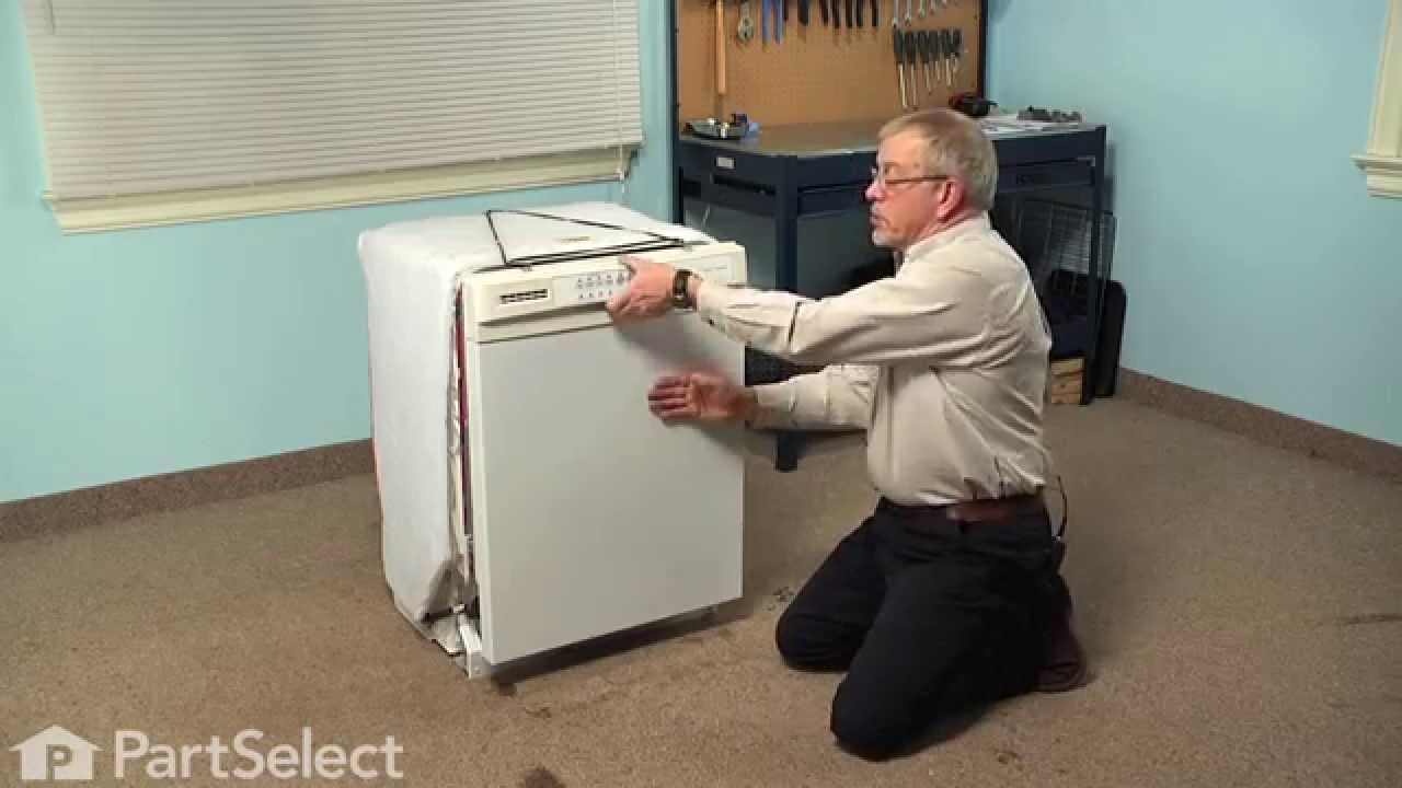 Replacing your Whirlpool Dishwasher Detergent and Rinse Aid Dispenser