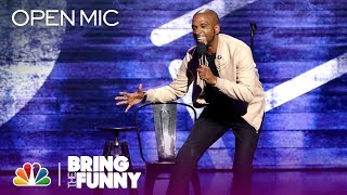 Stand-Up Comic Ali Siddiq Performs in the Open Mic Round - Bring The Funny (Open Mic)