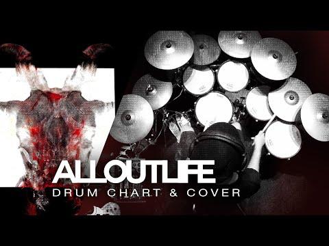Slipknot All Out Life Drum Coverchart