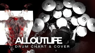 Slipknot All Out Life Drum Coverchart