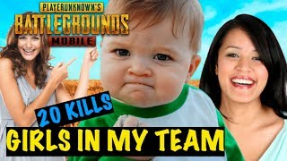 Carrying Girls to Victory in PUBG Mobile | Funniest Moments | Triggered Insaan