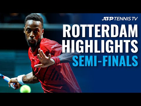 Auger-Aliassime And Monfils Set Blockbuster Final | Rotterdam 2020 Semi-Final Highlights