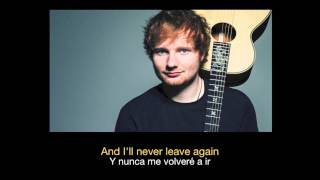 Ed Sheeran - One High Quality Mp3 (Sub español - ingles)