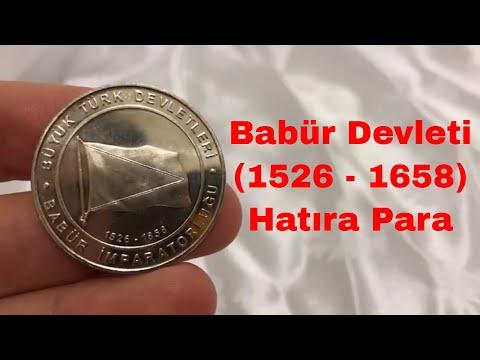 Babür İmparatorluğu Hatıra Para | 16 Büyük Türk Devleti
