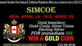 Canada's Number One Antique & Collectors Roadshow Simcoe Ad
