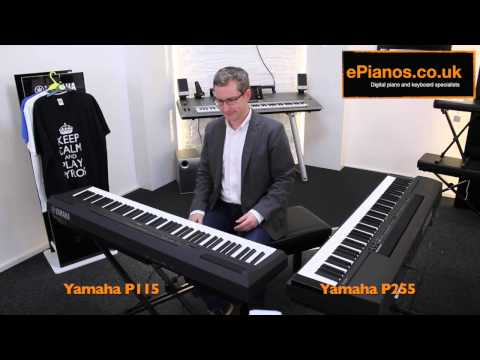 Yamaha P115 v P255 Comparison - What piano should I buy?