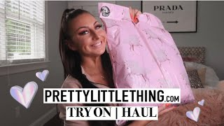 PRETTY LITTLE THING HAUL | TRY ON