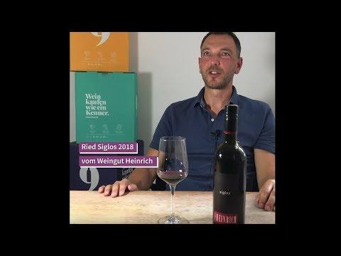 """9Weine Gründer Herbert präsentiert den """"Ried Siglos 2018"""""""