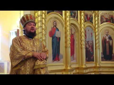07.08.16 Воскресная служба в Кафедральном Соборе