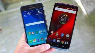 Galaxy S6 Active vs Droid TURBO