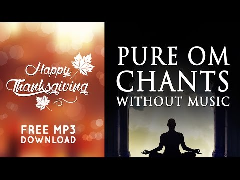 Om mantra chanting 108 times without music pure vocals free.