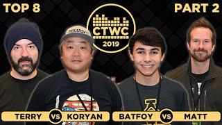 2019 CTWC Classic Tetris Rd. 3 - Part 2 - BATFOY/MATT MARTIN + KORYAN/TERRY
