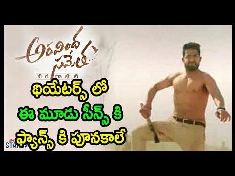 Aravinda Sametha Veera Raghava Fight Scene | Jr NTR | Trivikram Srinivas | Pooja Hegde | TeluguStars