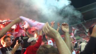 Vlastní gól Poloma na 1:0 a oslava gólu :) SK Slavia Praha - Boleslav 1:1