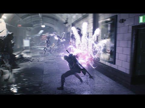 華麗爽快的戰鬥!《惡魔獵人5》最新宣傳影片公開!
